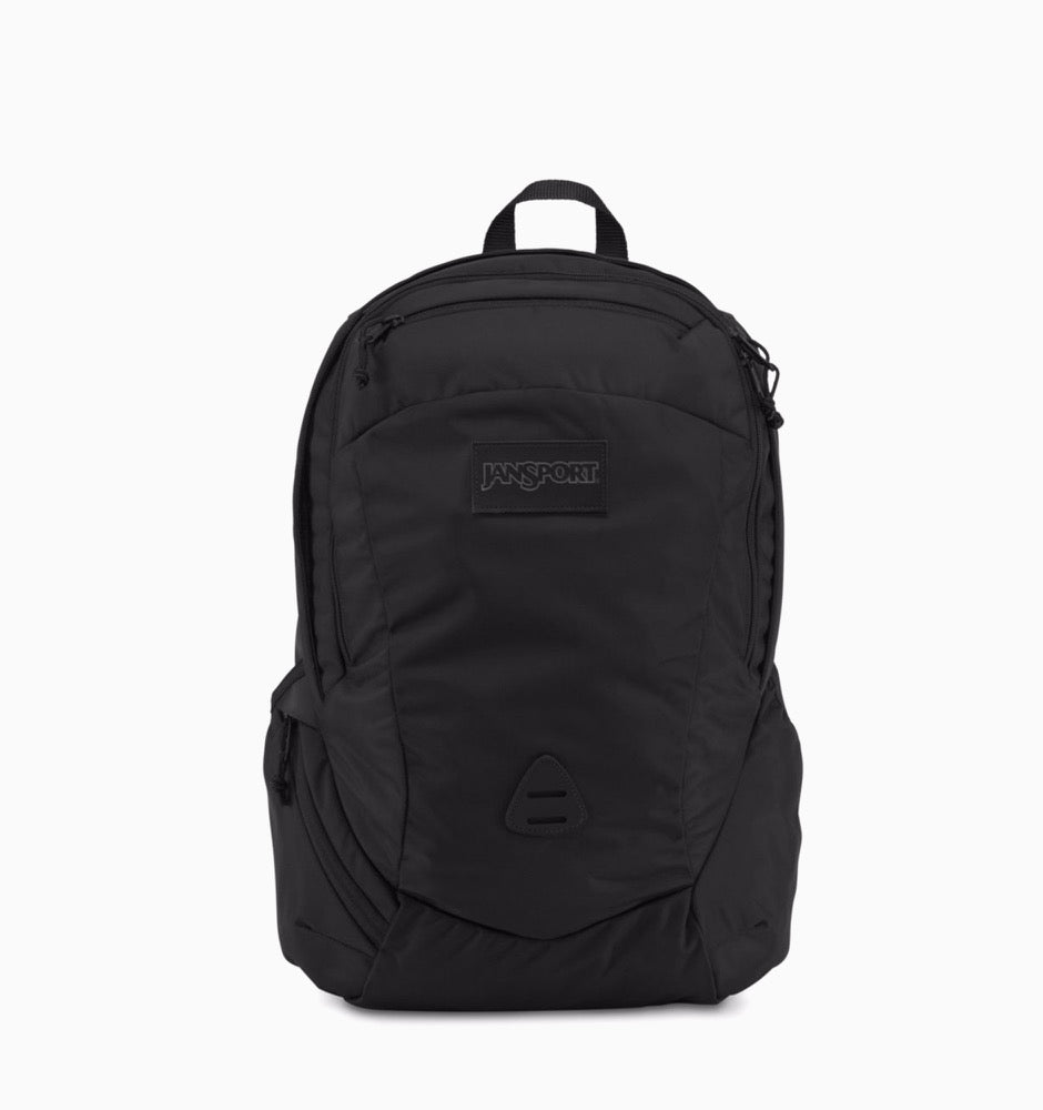 "JanSport Wynwood 16"" Laptop Backpack - Black Ballistic Nylon"