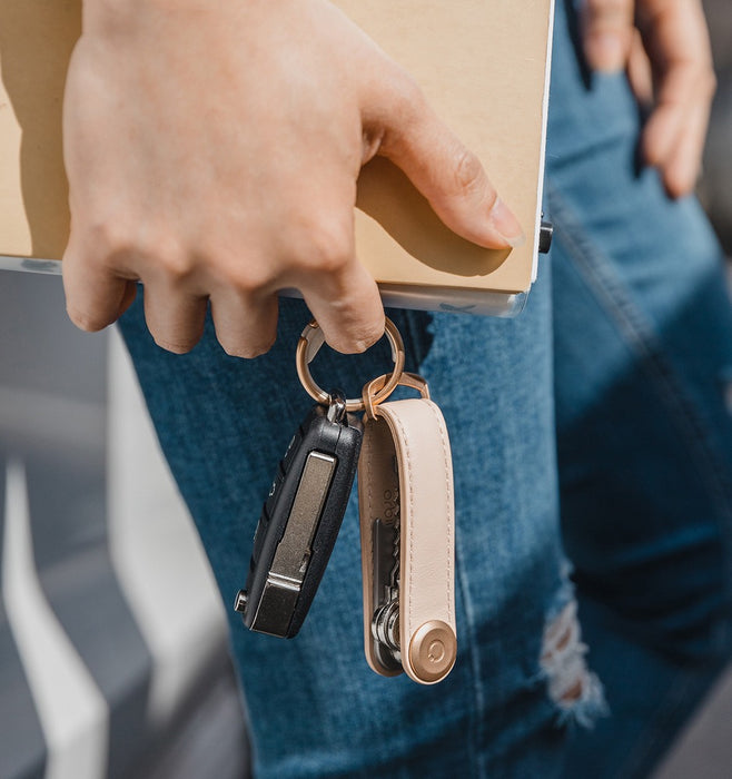 Orbitkey Leather 2.0 Key Organiser