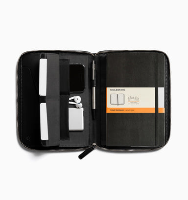 Bellroy Work Folio A5 Leather Compendium - Black