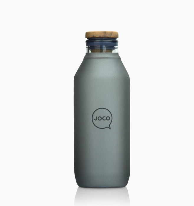 Joco Plastic Free Water Bottle 600ml (20oz) - Black
