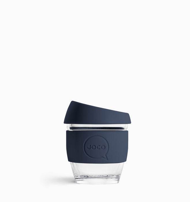 Joco 118ml (4oz) Reusable Coffee Cup - Mood Indigo