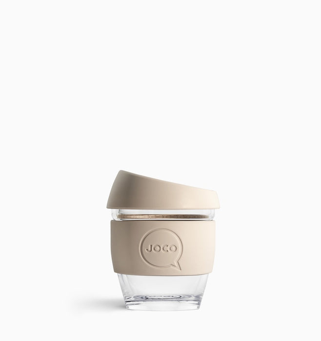 Joco 118ml (4oz) Reusable Coffee Cup - Sandstone