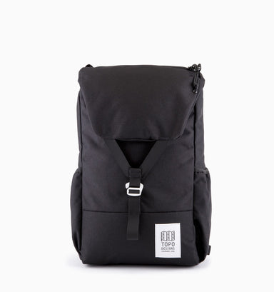 "Topo Designs Y-Pack 16"" Laptop Backpack - Black"