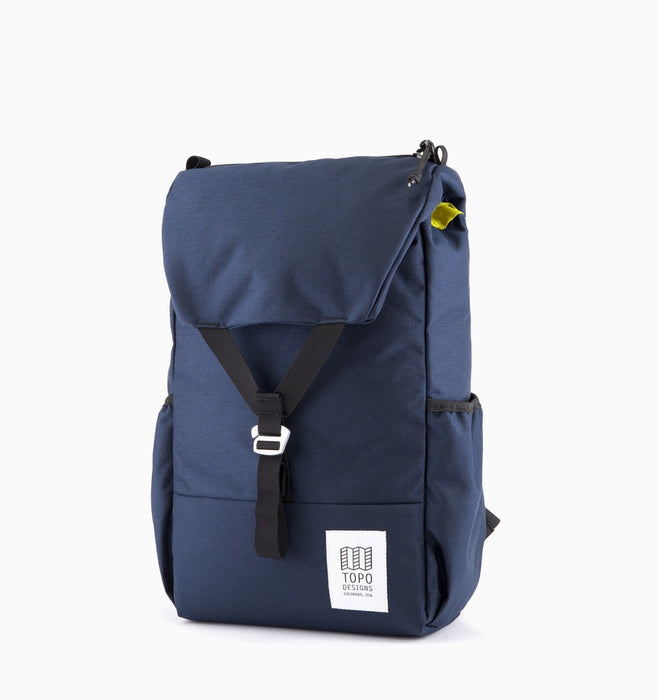 "Topo Designs Y-Pack 16"" Laptop Backpack - Navy"