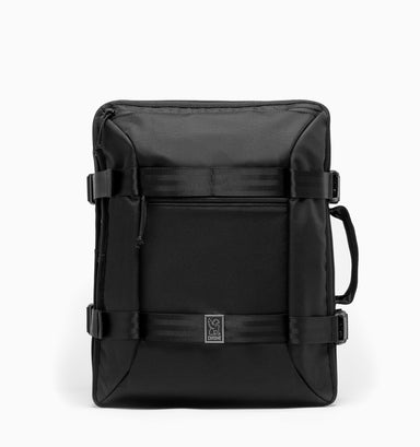 "Chrome Macheto 16"" Travel Backpack - All Black"