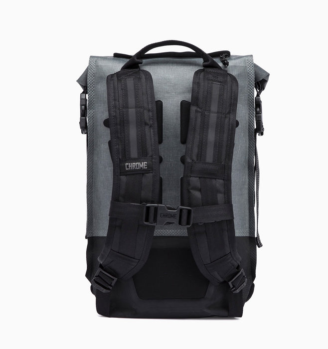 Chrome Urban Ex Rolltop 18L 2.0 Backpack - Grey Black