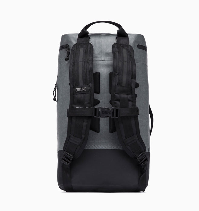 "Chrome Urban Ex Gas Can 22L 16"" Laptop Backpack - Grey Black"