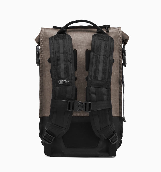 Chrome Urban Ex Rolltop 18L 2.0 Backpack - Khaki Black