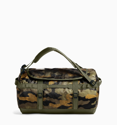 The North Face Small Base Camp Duffle 50L - Burnt Olive Green Camo