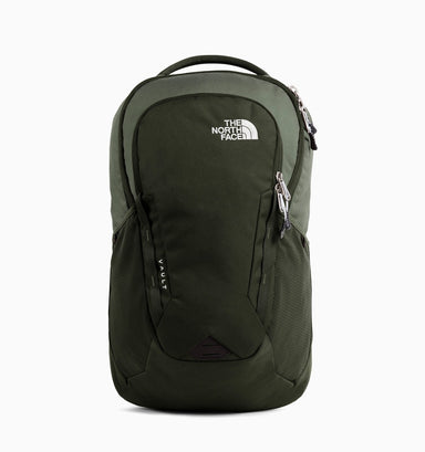 "The North Face Vault 16"" Laptop Backpack - Green Grey"