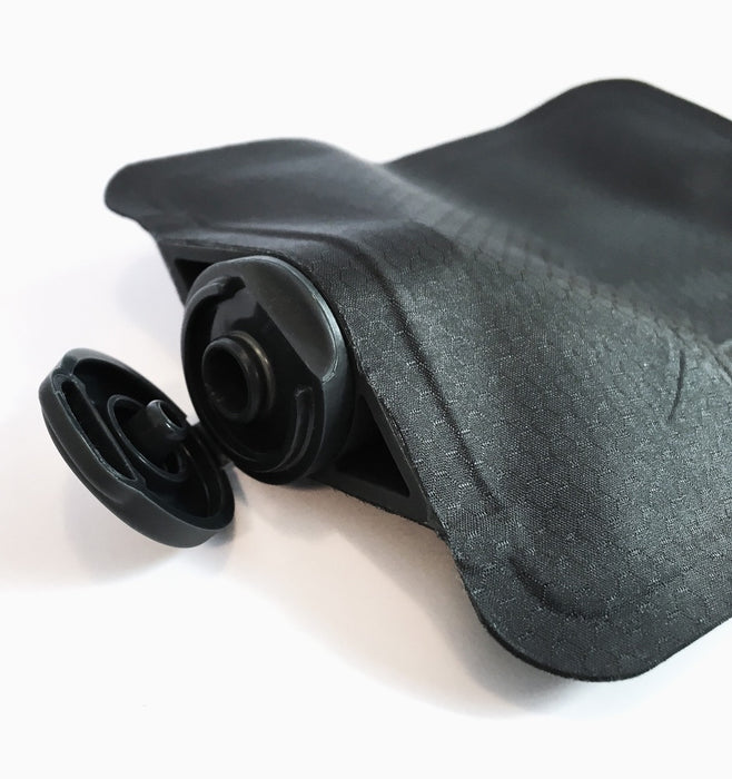 Matador Flatpak Toiletry Bottle 3 Pack - Black