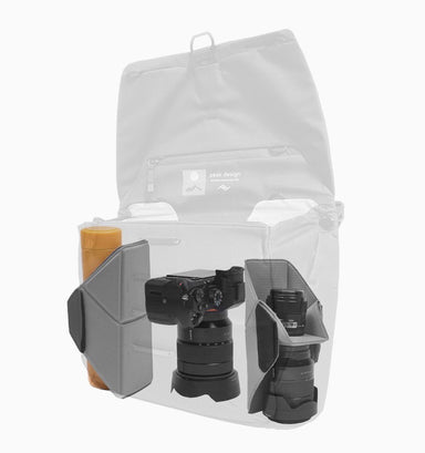"Peak Design Everyday 13"" Laptop DSLR Messenger 13L V2 - Ash"