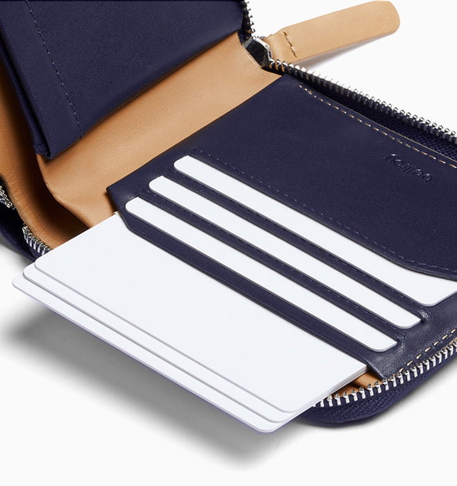 Bellroy Zip Wallet - Navy