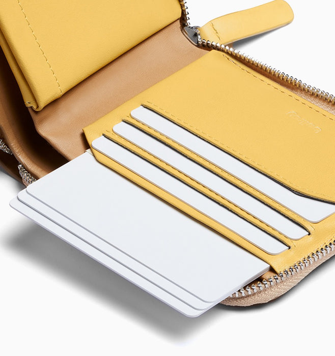 Bellroy Zip Wallet - Tan