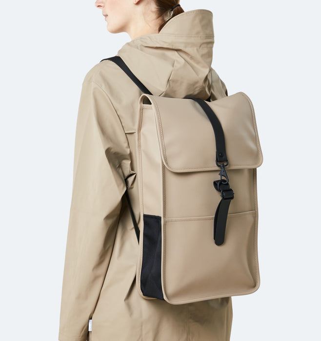 "Rains 13"" Laptop Backpack - Beige"