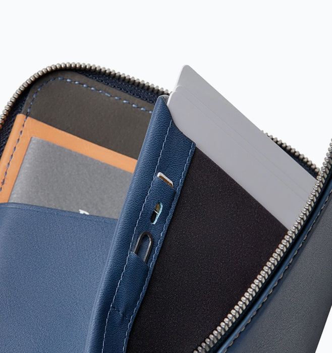 Bellroy Travel Folio Passport Wallet - Marine Blue