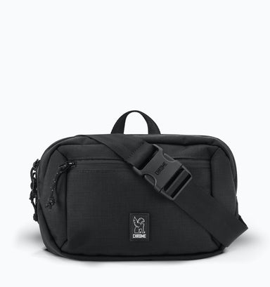 Chrome Ziptop Waistpack - Black