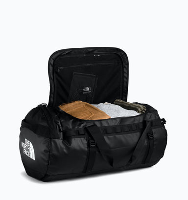 The North Face Large Base Camp Duffle 95L - Black White