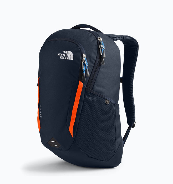 "The North Face Vault 16"" Laptop Backpack - Navy Orange"