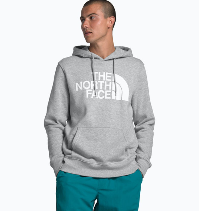 The North Face Mens Half Dome Pullover Hoodie - Grey Heather