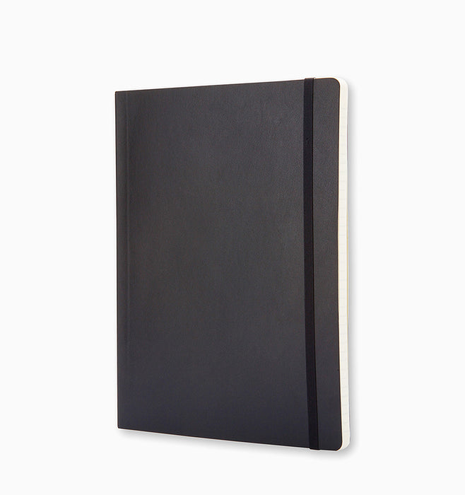 Moleskine Extra Large Classic Ruled Softcover Notebook - Black Ruled