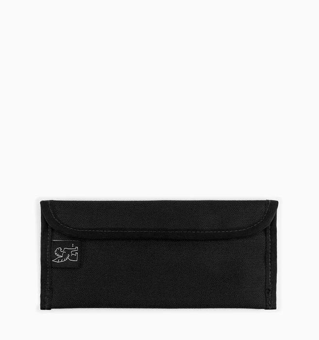 Chrome Small Utility Pouch - Black