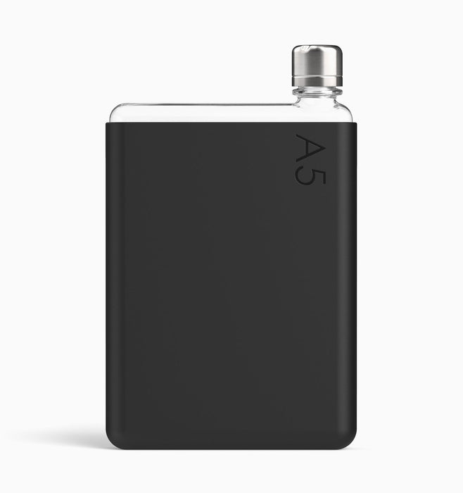 Memobottle A5 Silicone Sleeve - Black Ink