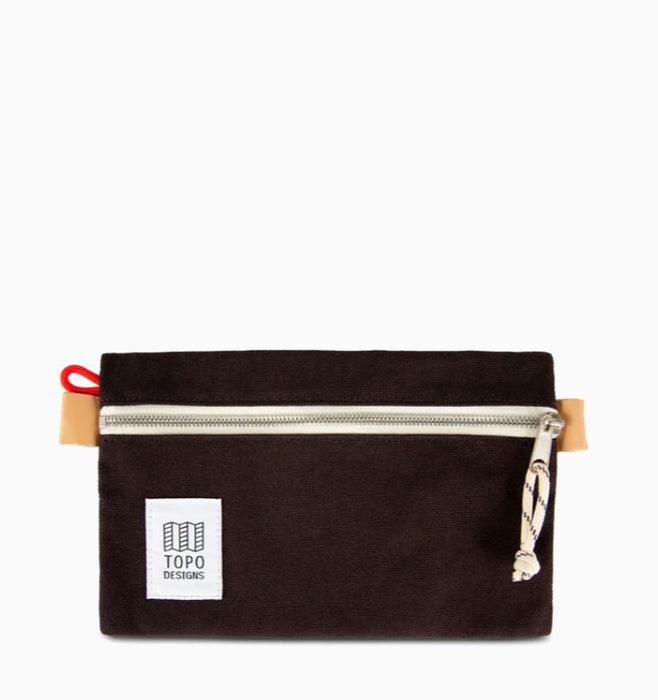 Topo Designs Small Accessory Bag - Black Canvas
