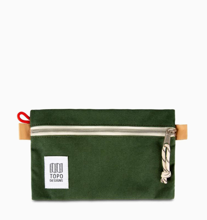 Topo Designs Small Accessory Bag - Forest Canvas