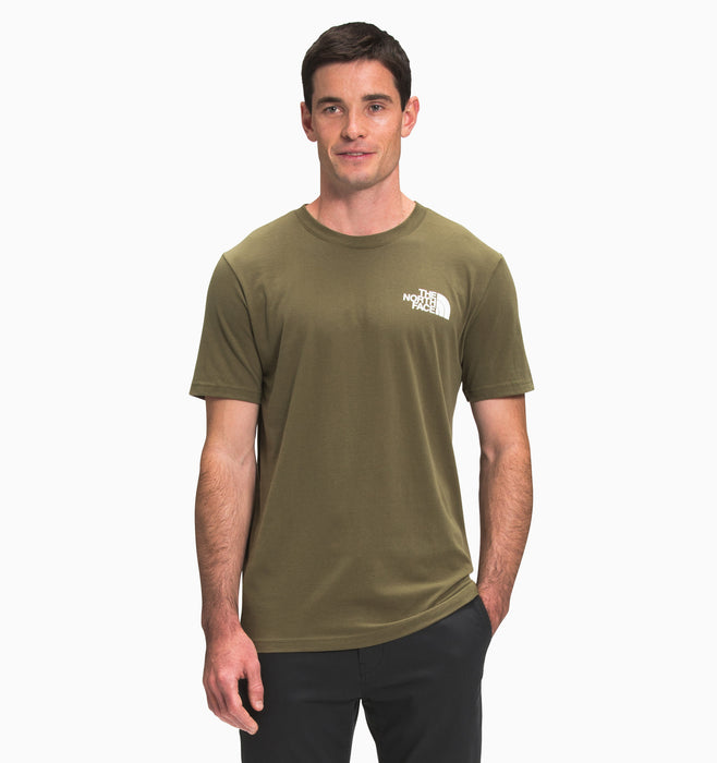 The North Face Men's Short-Sleeve Box NSE Tee - Burnt Olive
