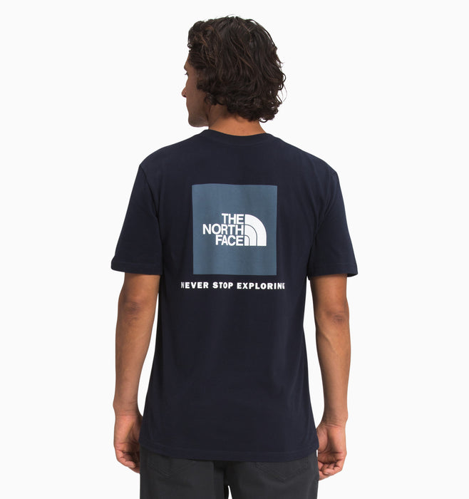 The North Face Men's Short-Sleeve Box NSE Tee - Aviator Navy