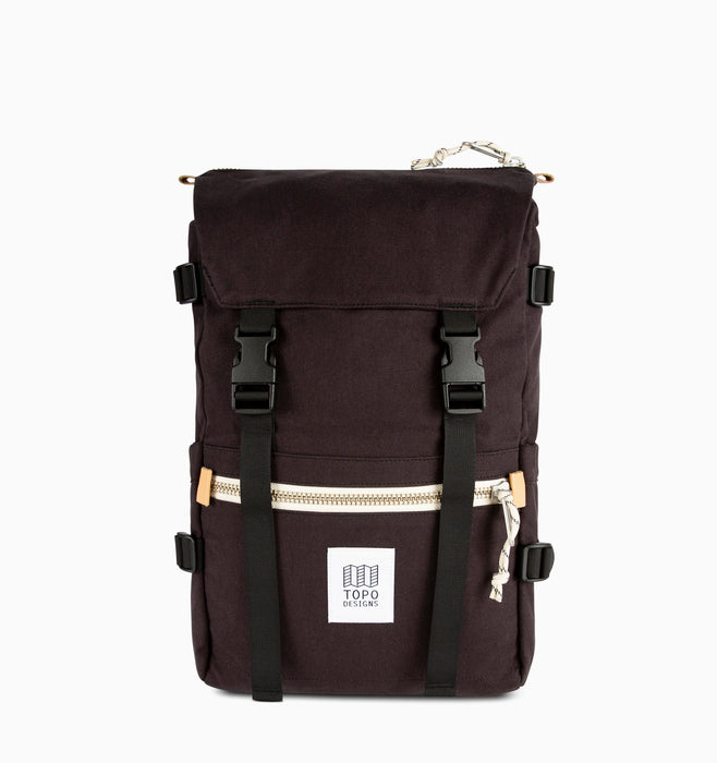 Topo Designs Rover Pack Laptop Backpack - Black Canvas