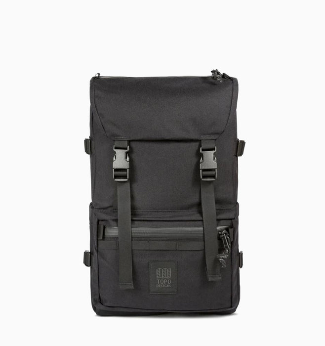 Topo Designs Rover Pack Laptop Backpack - Tech Black