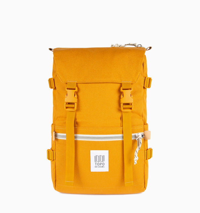 Topo Designs Rover Pack Laptop Backpack - Yellow Canvas