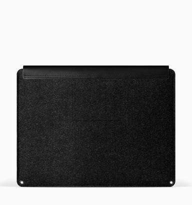 "Mujjo Laptop Sleeve for 13"" Macbook Air & Pro - Black"