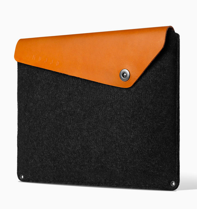 "Mujjo Laptop Sleeve for 13"" Macbook Air & Pro - Tan"