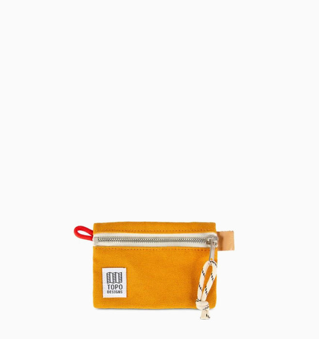 Topo Designs Micro Accessory Bag - Yellow Canvas