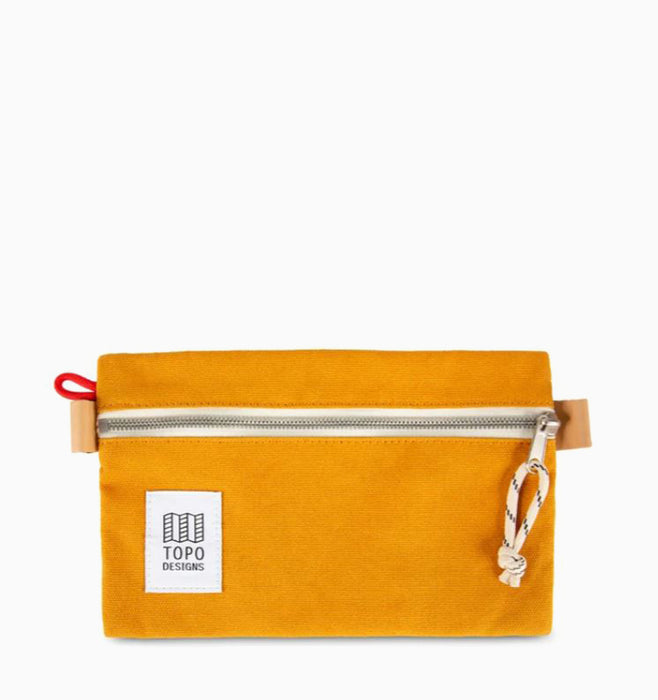 Topo Designs Small Accessory Bag - Yellow Canvas