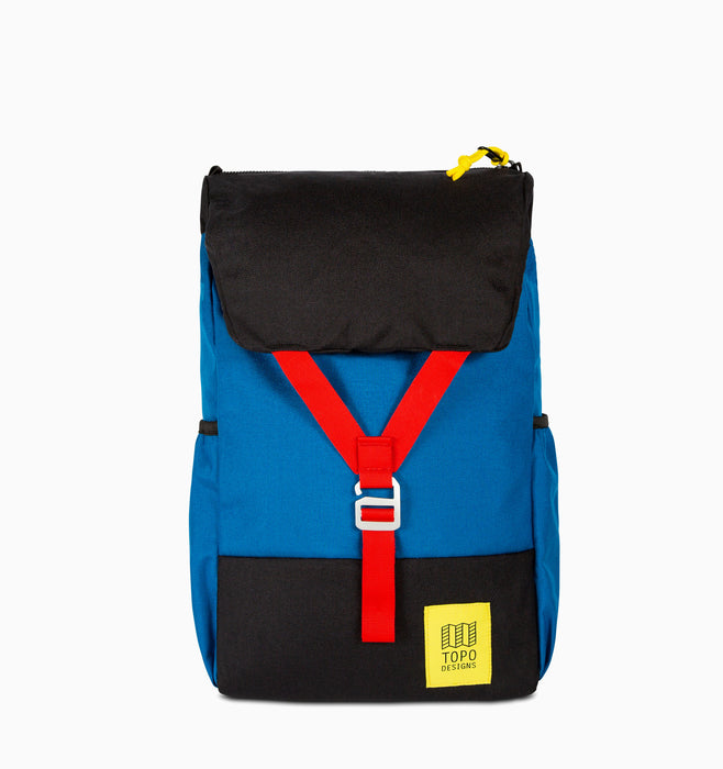 "Topo Designs Y-Pack 16"" Laptop Backpack - Blue Black"