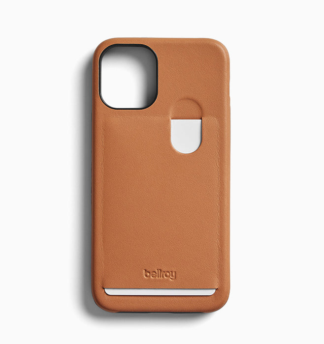 Bellroy iPhone 12 Mini Case (1 Card) - Toffee