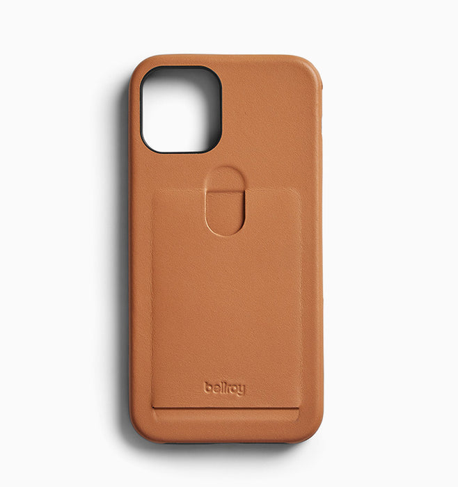Bellroy iPhone 12 & 12 Pro Case (1 Card) - Toffee