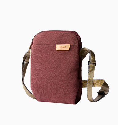 Bellroy City Pouch - Red Earth
