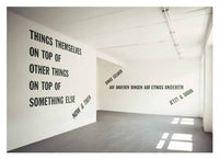 Lawrence Weiner: Nach Bildende Kunst/After Fine Art Works in the German-speaking World - CLEARANCE