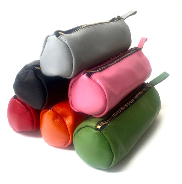 Soft Leather Pencil Case