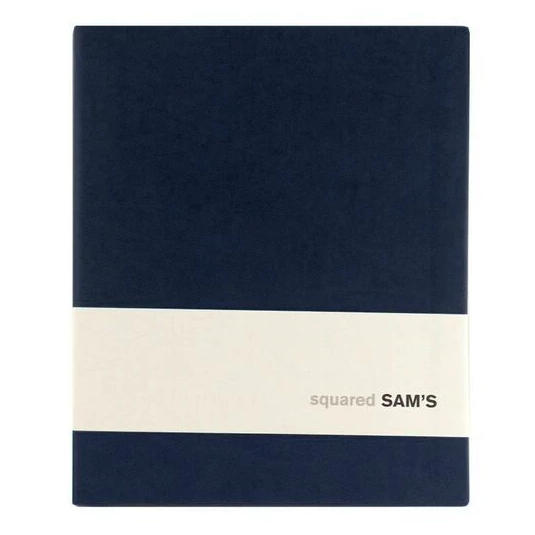 Sam's Soft cover Notebook - Grid Paper