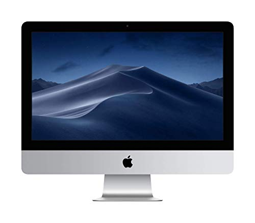 Apple iMac (21.5-inch, Previous Model, 8GB RAM, 1TB Storage) - Silver