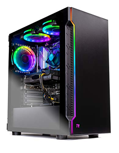 SkyTech Shadow Gaming Computer PC Desktop – Intel Core i5 9400F 2,9GHz, GTX 1650 4G, 500GB SSD, 8GB DDR4 3000MHz, RGB Fans, Windows 10 Home 64-bit, 802.11AC Wi-Fi