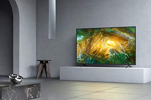 Sony X800H 55 Inch TV: 4K Ultra HD Smart LED TV with HDR and Alexa Compatibility - 2020 Model
