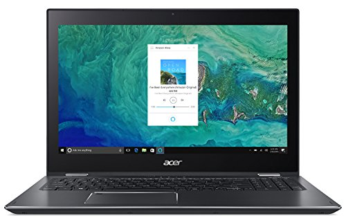 "Acer Spin 5 SP515-51GN-83YY, 15.6"" Full HD Touch, 8th Gen Intel Core i7-8550U, GeForce GTX 1050, Alexa Built-in, 8GB DDR4, 1TB HDD, Convertible, Steel Gray"
