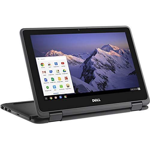 "2019 New Dell Inspiron 11 Convertible 2 in 1 Chromebook , 11.6"" HD Backlight Touch IPS Display, Intel Celeron Dual Core N3060 Processor, 4GB Ram, 32GB EMMC, WiFi, HDMI, USB3.1, Chrome OS"